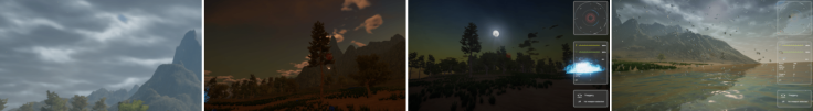 Rudium Screenshot Montage